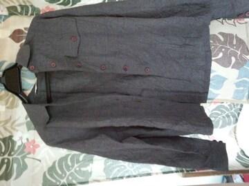 未着用 グレー シャツ 9AR