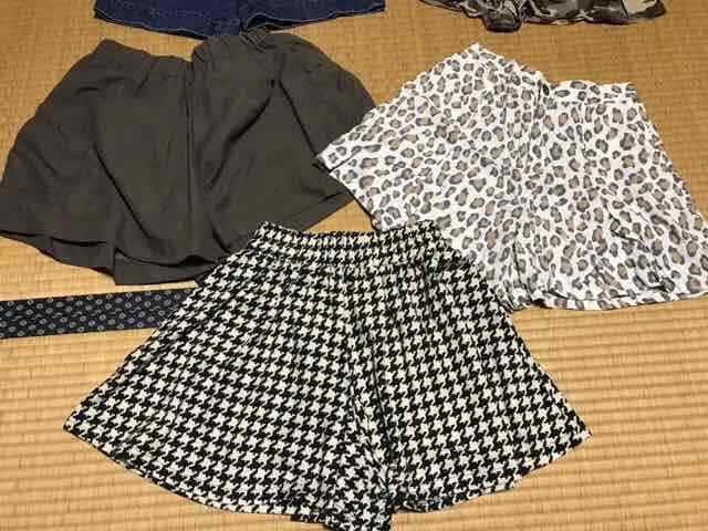 まとめ売り 新品美品あり レディース ショートパンツ デニム M < 女性ファッションの