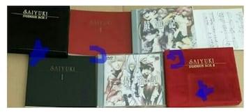 最遊記 プレミアムボックス DVD 1&2巻セット 中古