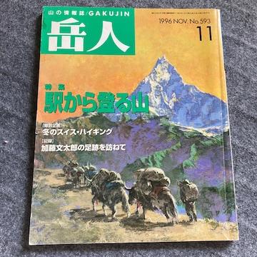 1996年11月 山の情報誌 岳人