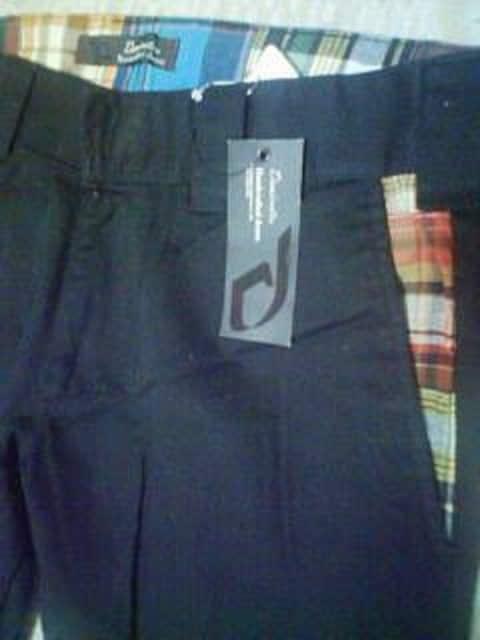 Aー184★新品<Sale>ポイントチェック柄綿パン82 < 男性ファッションの