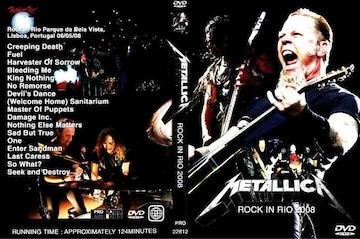 ≪送料無料≫METALLICA ROCK IN RIO 2008 メタリカ