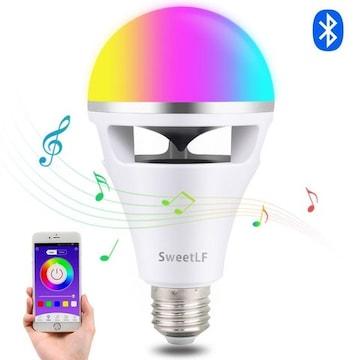 スマートLED スピーカー内蔵 音楽電球