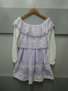 LIZ LISA☆オフショル長袖ワンピ