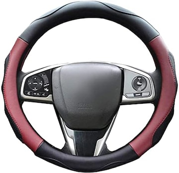 ZATOOTOハンドルカバー 軽自動車 ステアリングカバー sサイズ 3D