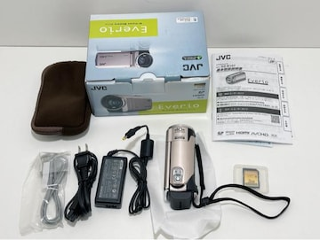 Z235 MBR★極美品 JVC デジタルビデオカメラ GZ-E107-N