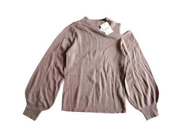 新品 GRL グレイル 肩見せ 肩出し ニット セーター