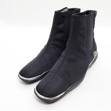 CHANEL シャネル 02A サイドゴア ショート ブーツ 35