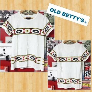 OLD BETTY'S オールドベティーズ Tシャツ 美品 日本製