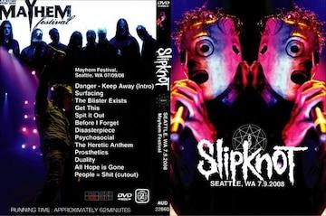 SLIPKNOT IN SEATTLE 2008 スリップノット