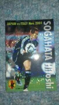 2002 カルビー日本代表カード IN-01 曽ヶ端 準