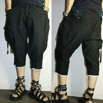 新品KMRIIケムリ Linen Cargo Half Pants 2