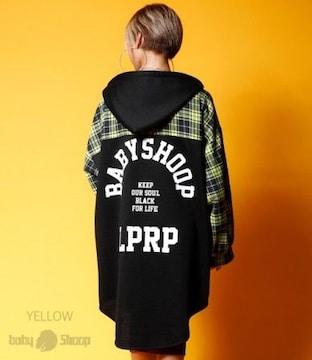 baby shoop トップス/ チェックシャツ  / ワンピ