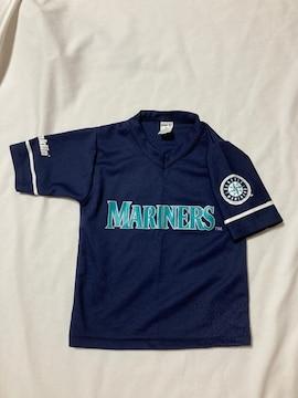 メジャーリーグ 野球 マリナーズ イチロー ユニフォーム 風 Tシャツ ネイビー S 51