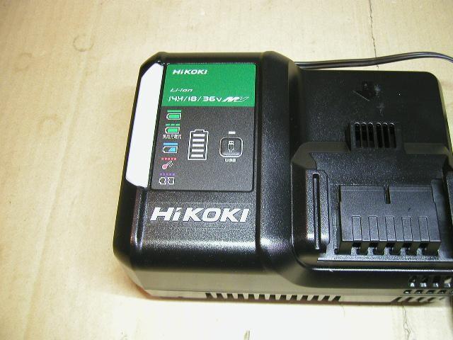 \5490 展示品 UC18YDL2 HiKOKI/日立 急速充電器 送料\520〜  < ペット/手芸/園芸の