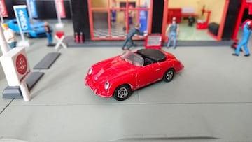 [ジャンク・絶版・トミカ]No.F‐9 ポルシェ 356 スピードスター/日本製・青箱