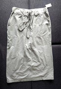 LL★スエット生地カジュアルスカート★大きいサイズ