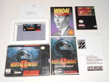 SFC★MORTAL KOMBAT 2 SNES 海外版(国内本体動作不可)