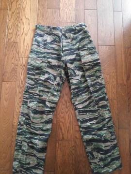 Fox outdoor タイガーストライプカモ 迷彩パンツ