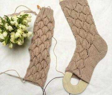 靴下用 2個セット 木製 ソックブロッカー インテリア