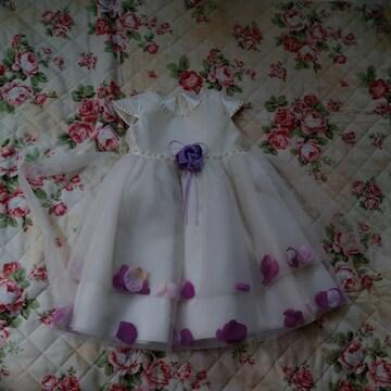 バルーンワンピースドレス120〜130