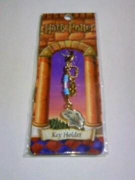 新品 ハリーポッター ヘドウィグ ターコイズ マスコットキーホルダー /Harry Potter フクロウ