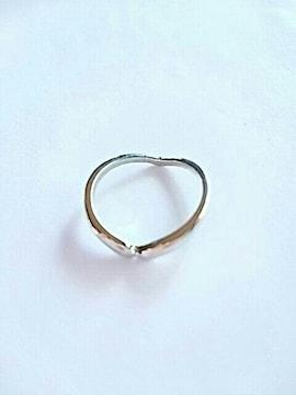 シンプル 指輪 リング アクセサリー シルバー 銀