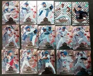 ダイヤモンドヒーローズプロ野球キラカード15枚詰め合わせ福袋
