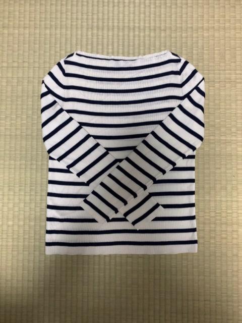 ☆ICBボートネックボーダーニット☆  < 女性ファッションの