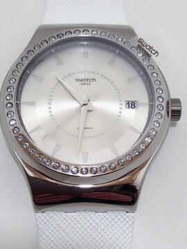 S001 未使用品 swatch 腕時計 システム51 IRONY YIS406 自動巻