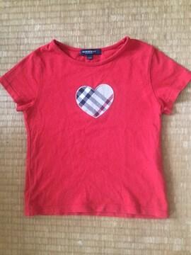 子供用赤いTシャツ(BURBERRY)