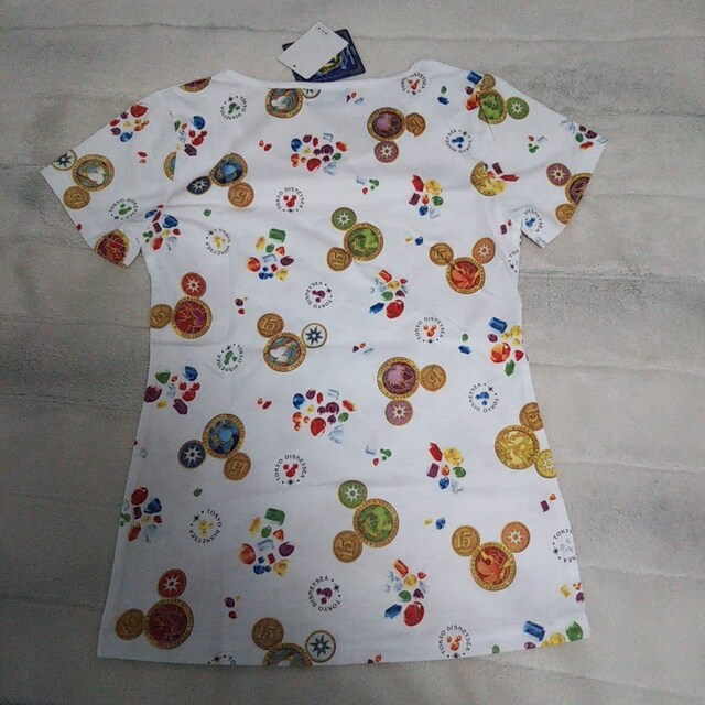 TDS♪ディズニーシー15周年 ミッキー Tシャツ Mサイズ < 女性ファッションの