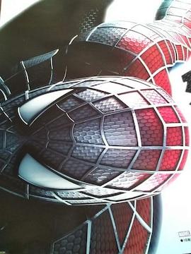 送料格安【パチンコ ブラック スパイダーマン】非売品ポスター