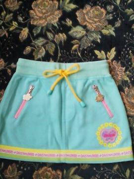 デイジーラバーズ水色スカート110