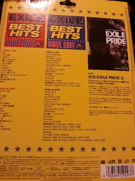 EXILE BEST HITS 限定 EXILE PRIDE DVD付き