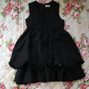 ワンピースドレス130美品
