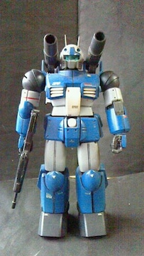 改修 RX-77-2 スレッガー専用 ガンキャノン 1/100 塗装済完成品 コンバ