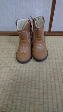 新品未使用☆タグ付き☆16センチ☆ブーツ☆ブラウン☆