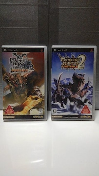 PSP モンスターハンターポータブル&ポータブル 2nd