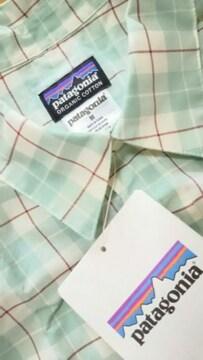 ◆新品◆patagonia(パタゴニア)◆半袖シャツ◆sizeM◆綿混◆