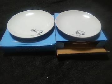 LAWSONローソン限定品♪SNOOPYスヌーピ-♪皿2セット×2つ♪新品未使用