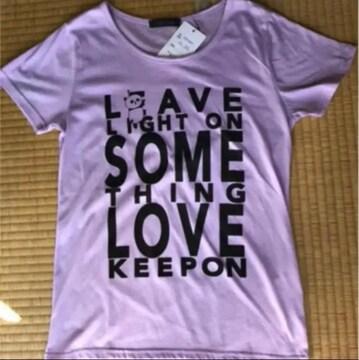 新品 Tシャツ M 可愛いパンダ胸元に