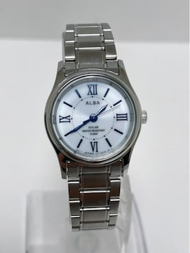 T355 MBR★美品 セイコー  ALBA  ソーラー 10気圧防水 腕時計