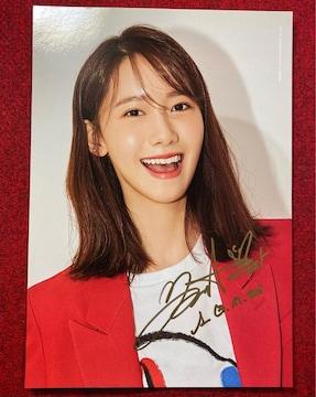 少女時代 ユナ直筆サインカード