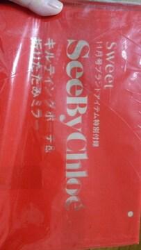 新品★ブランド特別付録「SeeByChloe'」折りたたみミラー