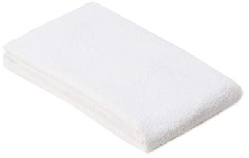 フェイスタオル 白タオル 220匁 約34×86cm 使いやすい厚み 薄手