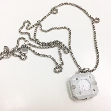 ◆MARC BY MARC JACOBS/マークバイ◆ペンダントウォッチ★時計ネックレス*美品♪