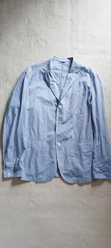CIAOPANIC爽やか水色ブルー綿コットン長袖テーラードジャケット