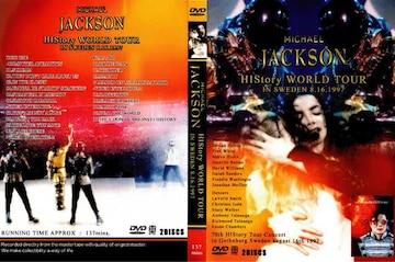 ≪送料無料≫マイケルジャクソン HISTORY TOUR IN SWEDEN 1997