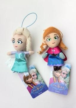新品☆アナと雪の女王アナ・エルサ ストラップ/キーホルダー